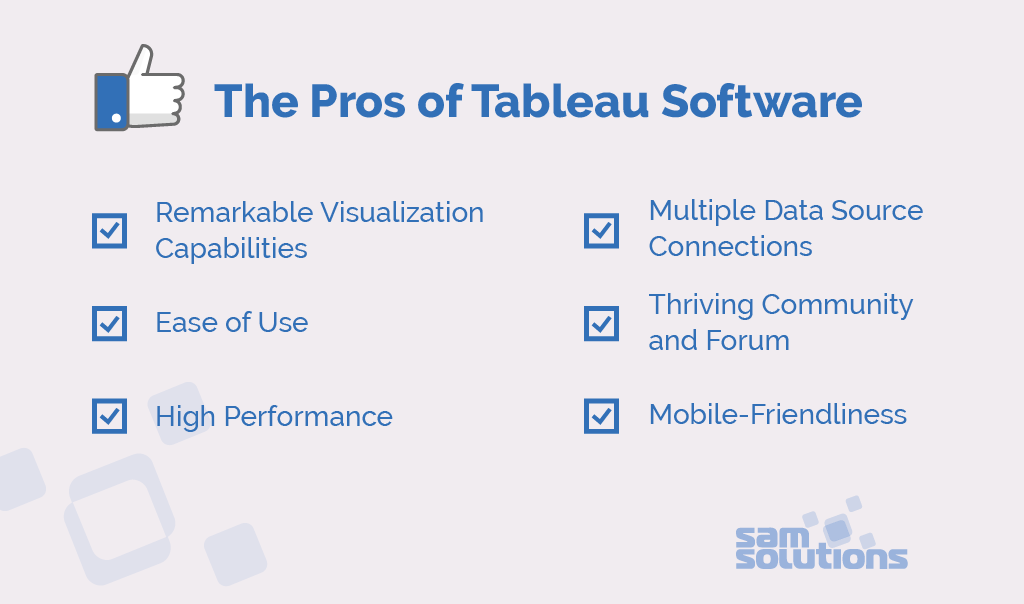 Pros and Cons of Tableau Software for Data Visualization