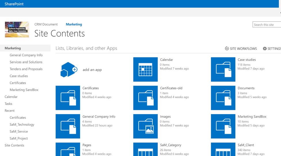how to build a sharepoint site
