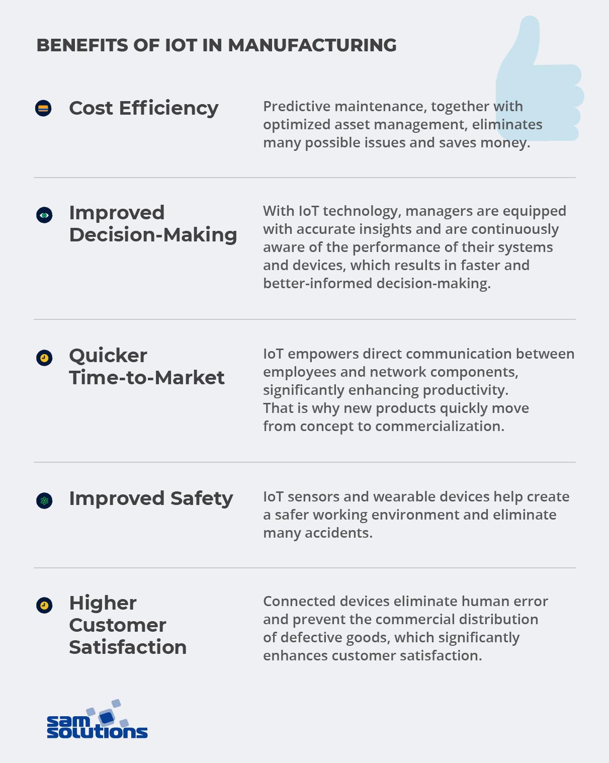 Industrial IoT Benefits