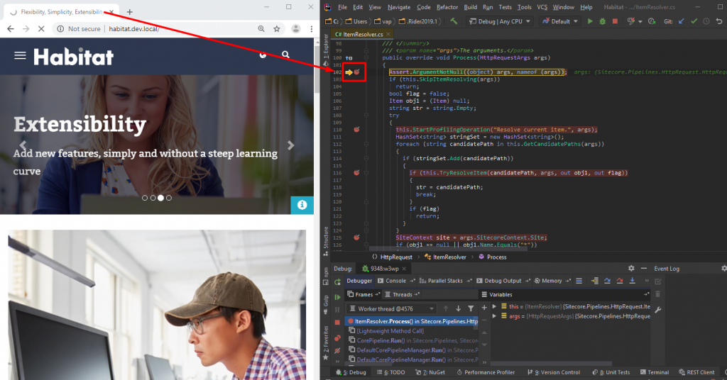 Sitecore DLLs Debugging with JetBrains Rider   SaM Solutions