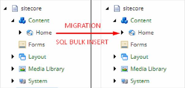 Sitecore Data Transfer — Tool SQL BULK INSERT