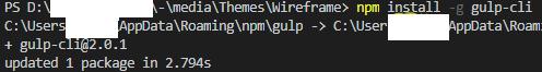 Install-gulp-cli-Sitecore-SXA-photo