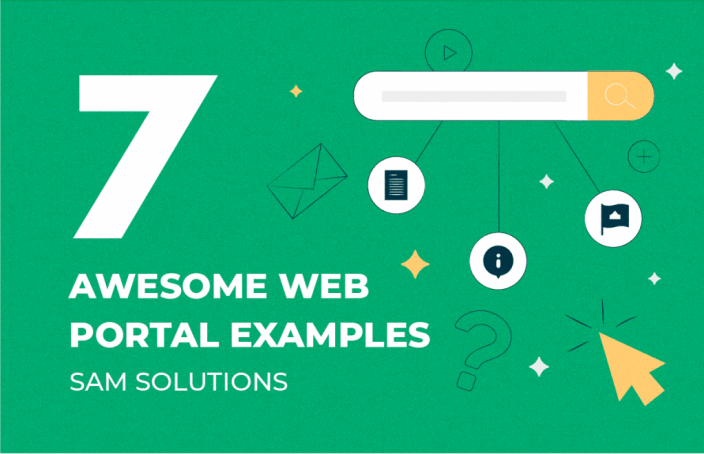 7 Awesome Web Portal Examples-cover