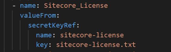 Sitecore-license-file-in-kubernetes