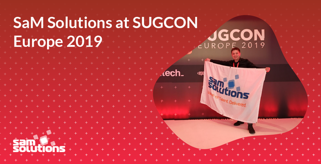 SaM Solutions at SUGCON Europe 2019