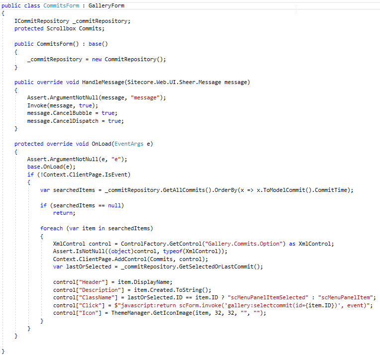 CodeBeside-element-Sitecore-photo