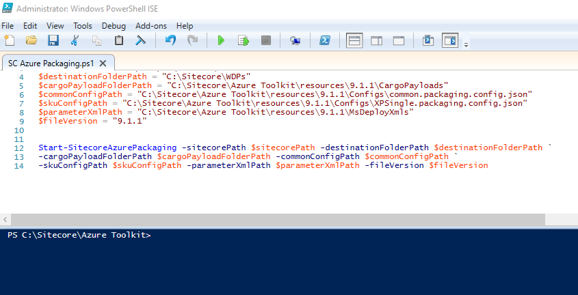 terminal-session-PowerShell-ISE-photo